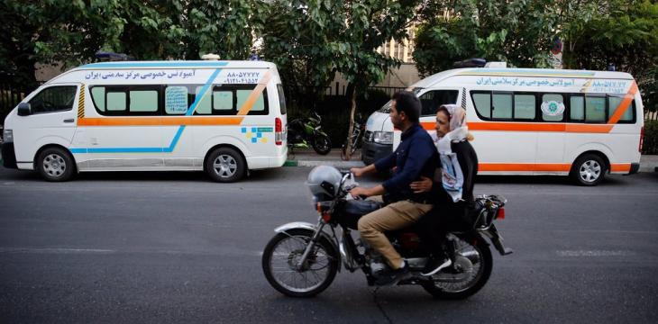Iran's Wealthy Use Ambulances to Beat Capital's Traffic