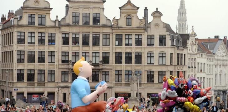 Tintin Page Featuring Blood Drops to be Auctioned in Paris