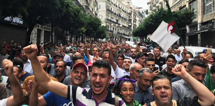 Protesters Reject Algerian Election Announcement