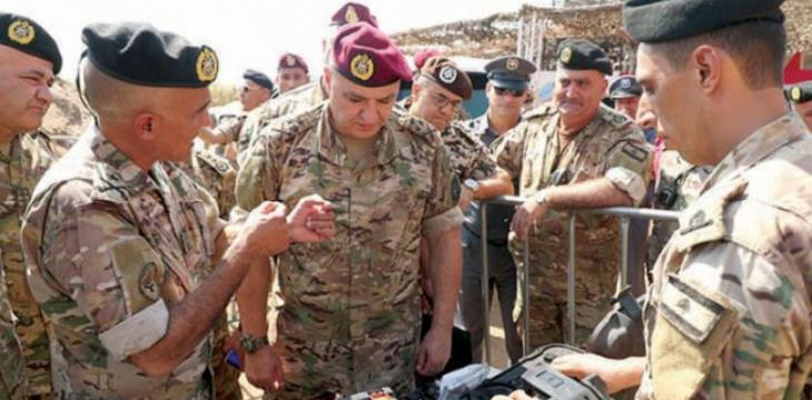 Lebanese Army Chief: No Illegal Crossings on the Border
