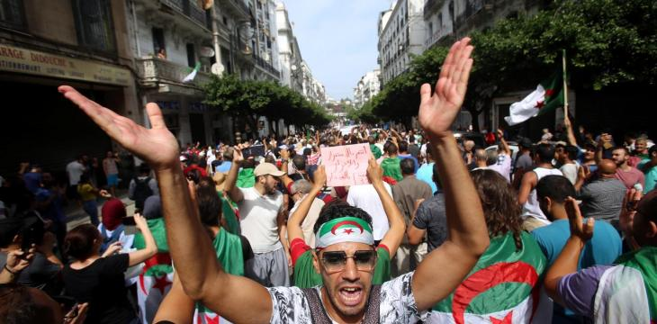 Defying Military Crackdown, Algerian Protesters Return to Streets