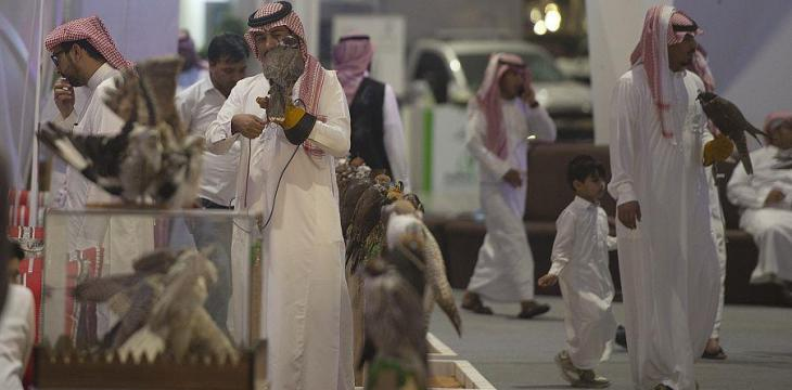 More than 132,000 Visitors on 2nd Day of Saudi Falcons, Hunting Exhibition 2019