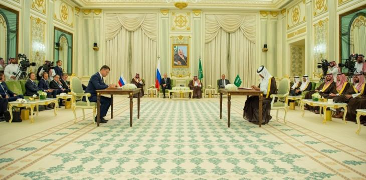 Saudi Arabia, Russia Ink Numerous Deals During Putin Visit to Riyadh