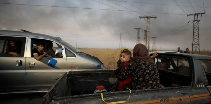 Hundreds of Syrian Kurds Seek Refuge in Iraq