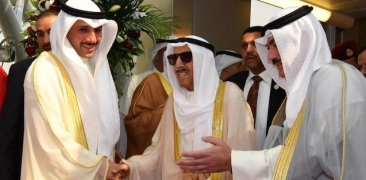 Kuwait's Emir Returns Home after Medical Checkups