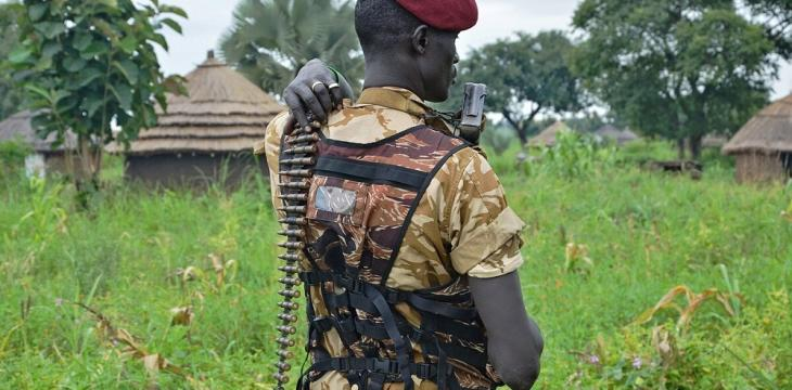 Lack of Food Pushes S.Sudan Opposition Troops to Desert Training Camps