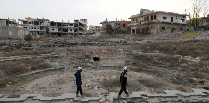 US to Support Syrian White Helmets with over $4 Million