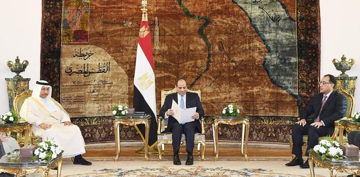 Sisi: Security of Gulf Integral to Egypt's National Security
