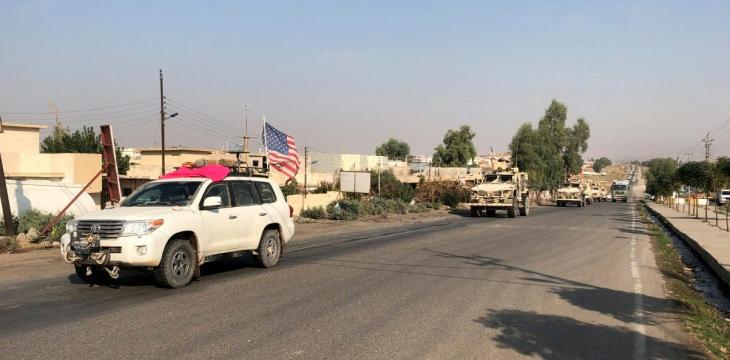 Esper Arrives in Baghdad as US Forces Cross over from Syria
