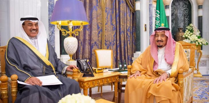 Saudi King Salman Receives Message from Kuwait Emir
