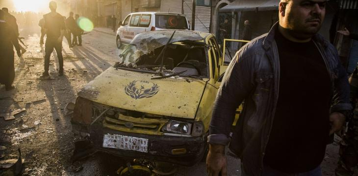 6 Killed in 3 Bombings in Syria's Qamishli