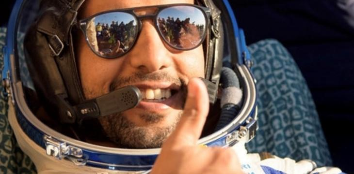 UAE's First Astronaut Urges Climate Protection on Earth