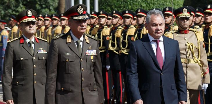 Egypt, Russia Agree to Reinforcing Military Cooperation against Terrorism