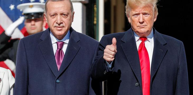 Trump, Erdogan Meet to Address Syria, Iron out Disputes