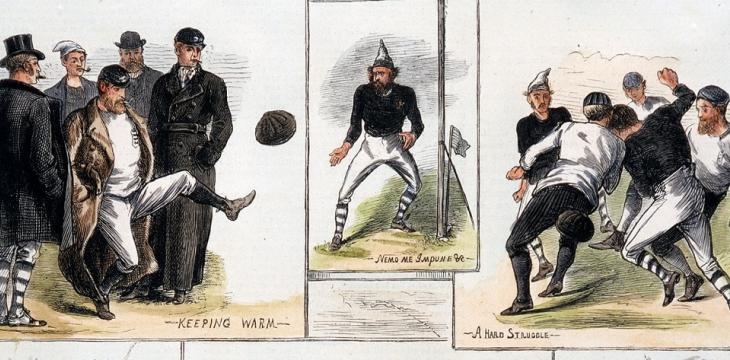 As England Played its 1,000th, the Story of the First Full Football International
