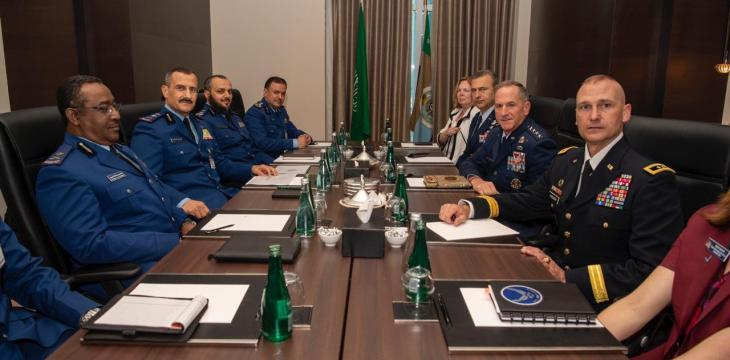 Saudi Air Force Commander Holds Talks with UAE, US, French Counterparts