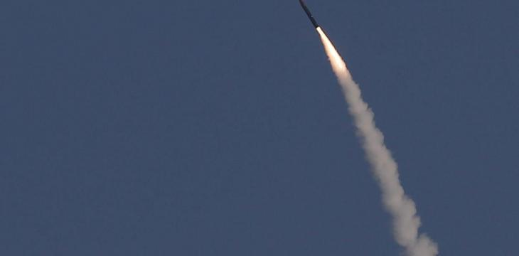 Israel Says Intercepts Rockets Fired from Syria
