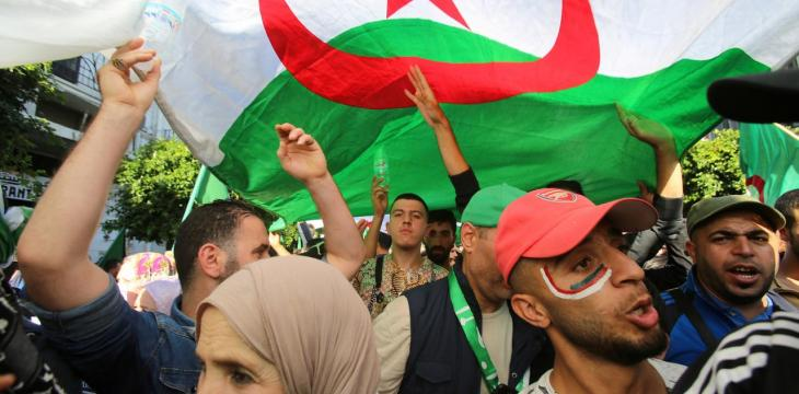 Algerian Court Jails Protesters over Election