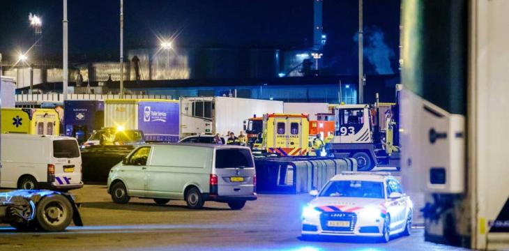 25 Migrants Found in Refrigerated Container on UK-Bound Ferry