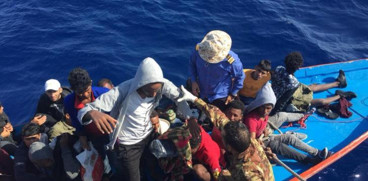 Spanish Ship Rescues 73 Migrants Off Libya