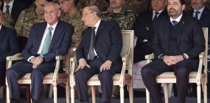 Lebanon´s Top Politicians Attend Military Parade