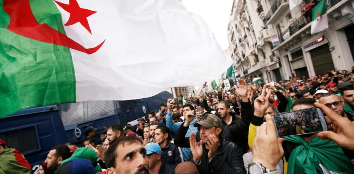 Algeria's Anti-election Protesters Keep Up Pressure Weeks Before Vote