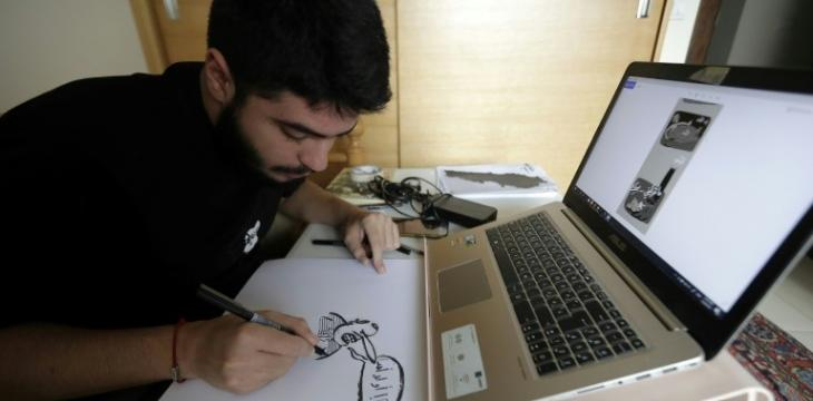 'Laugh at What's Hurting You': Lebanon Cartoonists Stir Debate