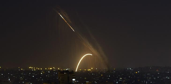 Israel Strikes Hamas in Gaza after Rocket Fire