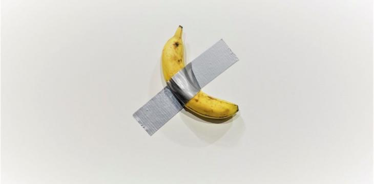 "Italian Artist Maurizio Cattelan ""Doesn't Care"" Someone Ate His Artwork"