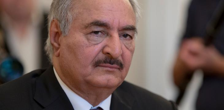 Libya's Haftar Arrives in Berlin for Int'l Conference