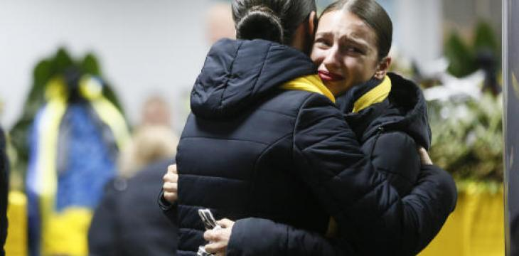 Bodies of Ukrainian Victims Returned Home as Iran Backtracks on Sending Flight Recorders