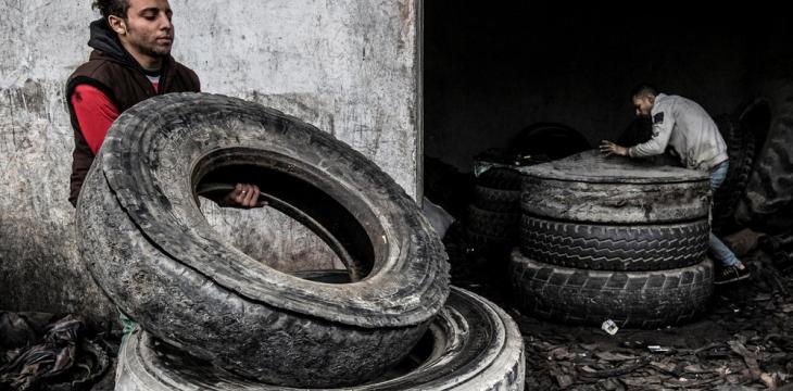 Egypt Village Turns a Profit on Used Tires