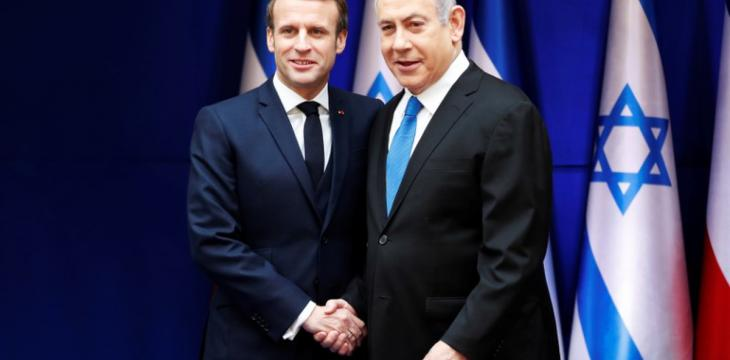 Macron Meets Netanyahu, Says Iran Must Not Acquire Nuclear Weapons