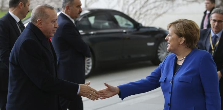 Merkel in Turkey to Address Libya, Syria with Erdogan