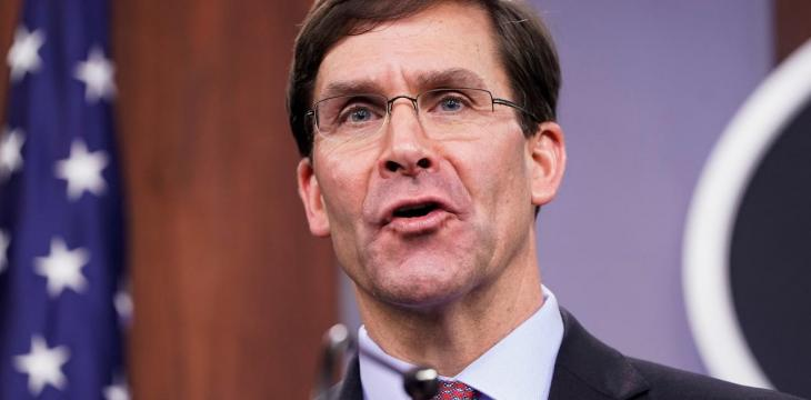US May Be Ready for Global Force Re-Positioning in 2020, Says Esper