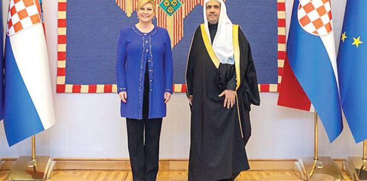 Croatian President Lauds MWL's Mission During Talks with Al-Issa in Zagreb