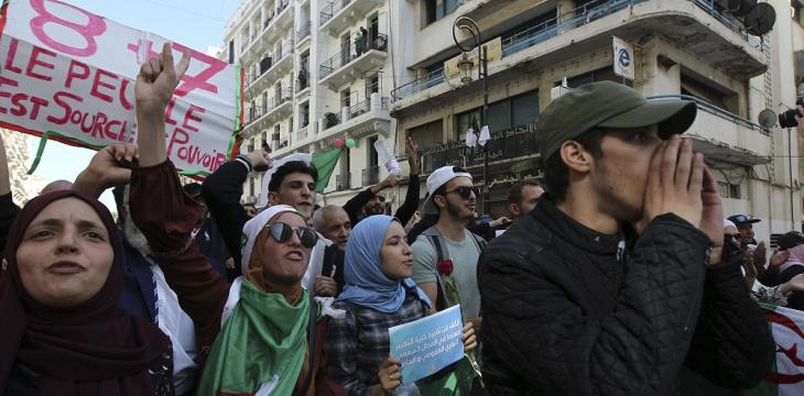 Algeria Anti-System Protests Mark First Anniversary