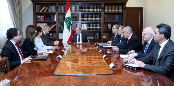Aoun: Solving Economic Crisis is Government's Top Priority