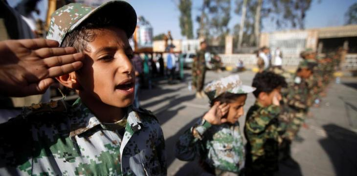 Houthi Battlefronts Turn 'Black Holes' for Child Soldiers