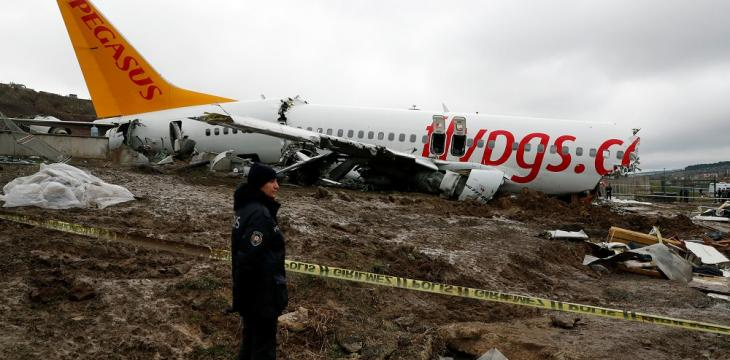 Turkey Arrests Captain of Crashed Pegasus Flight in Istanbul