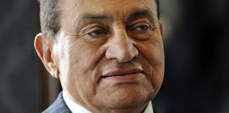 Arab Leaders Offer Condolences over Mubarak's Death