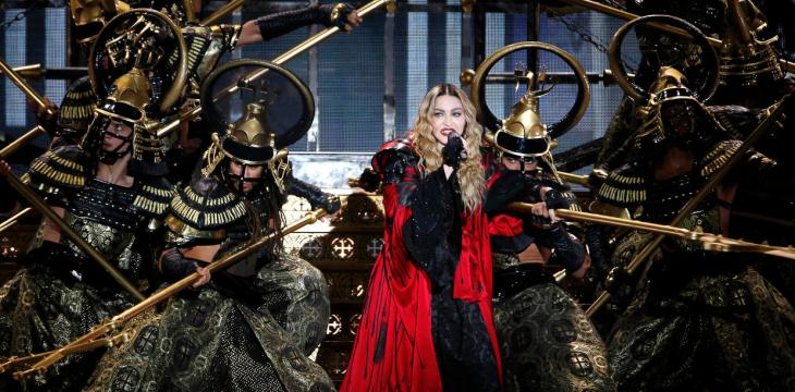Technical Problems Delay Madonna's Concert in Paris