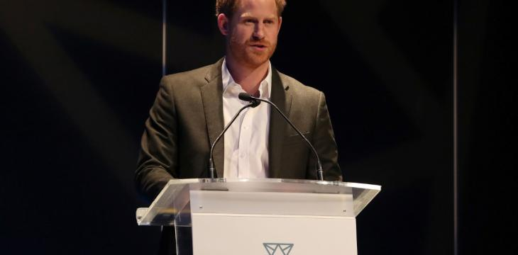 Prince Harry Takes Part in Last Official Appearances in UK
