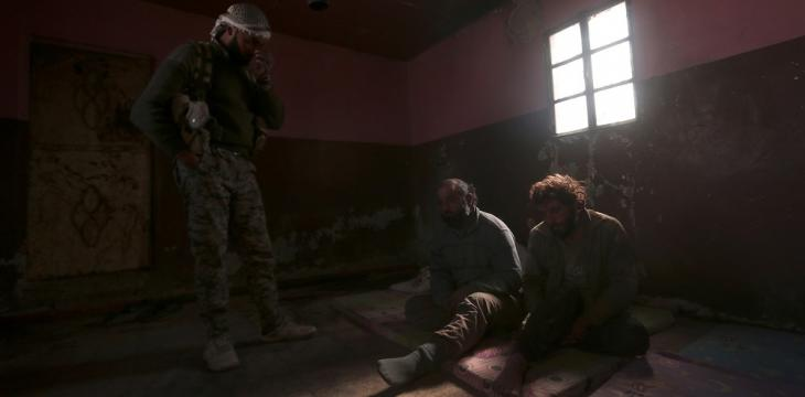 ISIS Prisoners Riot in NE Syria Jail, Some Escape