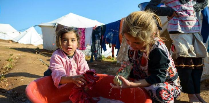 East Euphrates Refugees Fight Coronavirus With Personal Hygiene