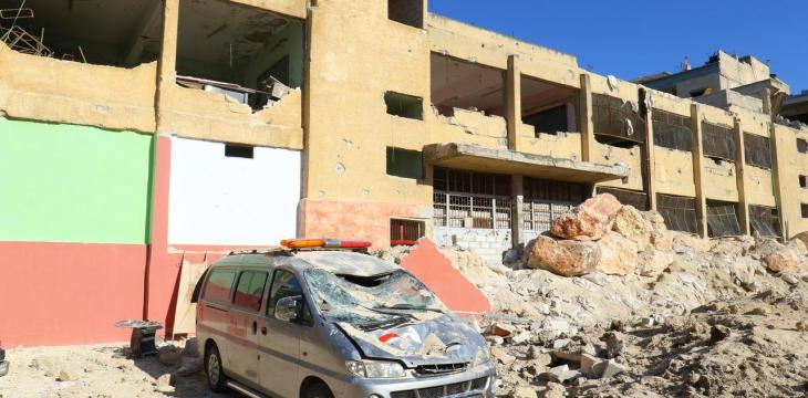 UN: Highly Probable Syrian Regime, Allies Targeted School, Hospitals
