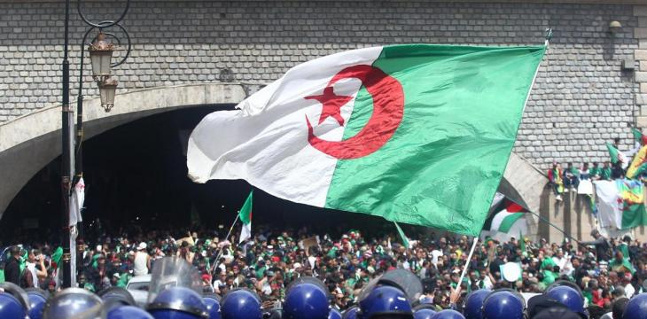 Algeria Sentences Another Protest Figure to Jail