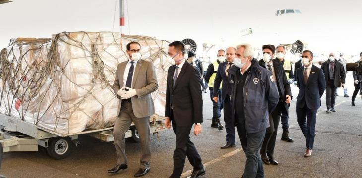 UAE Sends Aid to Help Italy Combat COVID-19