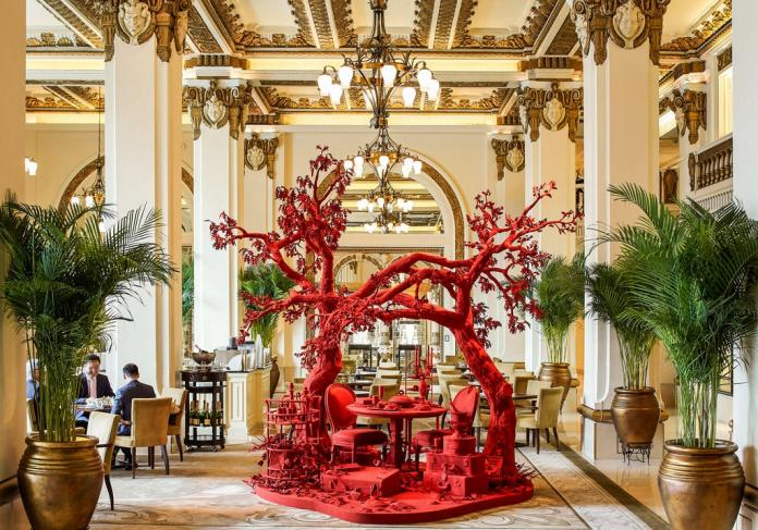 An Art Museum in Your Hotel Lobby | Asharq AL-awsat