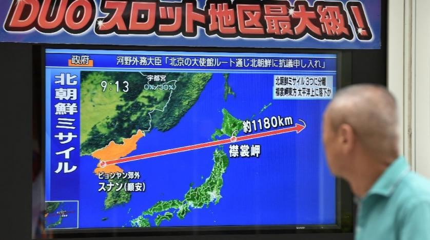 N Korea Escalates Tensions by Launching Missile over Japan
